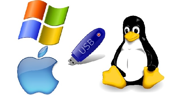 Come creare Live USB con Windows, Linux e Mac?
