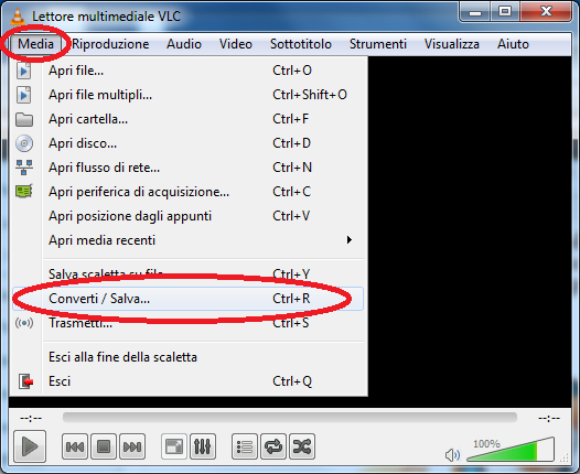 1Come registrare lo schermo - Usiamo VLC Media Player!