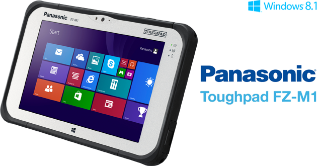 Panasonic presenta il primo Tablet al mondo Fully Rugged con Windows 8.1 pro